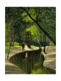 Paysage du Boulogne Impression giclée par Félix Vallotton