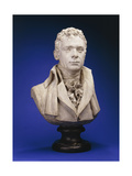 A Painted Plaster Bust of Robert Fulton (Platre Original) Giclee Print by Sanford Robinson		 Gifford