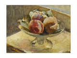 A Bowl of Peaches Giclee Print by Edouard		 Vuillard