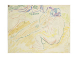 Two Reclining Nudes Giclee Print by Ernst Ludwig Kirchner