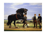 The Black Stallion Giclee Print by Rasmus		 Christiansen