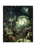The Outdoor Opera Premium Giclee Print by Carl		 Wuttke