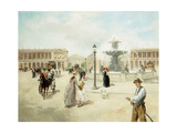 La Place de la Concorde Prints by Vicente Garcia Paredes