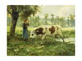 Cows at Pasture Poster von Julien Dupre