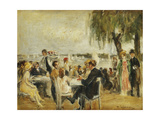 Garden Cafe on the Elbe Giclee Print by Max		 Liebermann