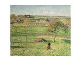Bazincourt Prairie, Autumn Prints by Camille Pissarro