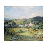 September Morning, Plainfield, New Hampshire Prints by Willard Leroy		 Metcalf