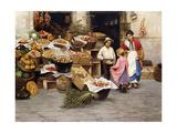 The Young Fruit Seller Giclee Print by Luigi Pastega