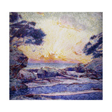 Cote Scene; Sunset Prints by Franz		 Gaillard