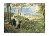 A Summer Day by the Sea Giclee Print by Max		 Silbert