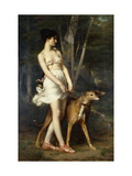 Diana the Huntress Giclee Print by Saint-Pierre Gaston Casimir