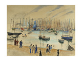 The Quay Giclee Print by Henri		 Lebasque