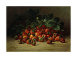 Strawberries Prints by August		 Laux