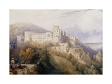 Heidelburg, The Palace of the Electors of the Palatinate Art by David		 Roberts