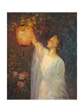Lantern Glow Reproduction procédé giclée par Charles E. Waltensperger