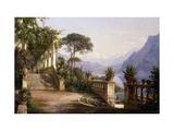 Loggia Fra Como Impression giclée par Carl Frederic Aagaard