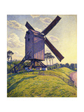 Windmill in Flanders Giclee Print by Theo Rysselberghe