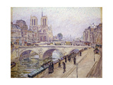 View of Notre Dame, Paris Giclee Print by Fritz		 Westendorp