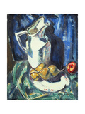 Still Life with White Pitcher and Fruit Giclee Print by Alfred Henry		 Maurer