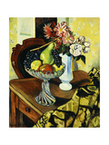 Still Life with a Fruit Bowl Giclee Print by Suzanne		 Valadon