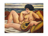 The Sonata Giclee Print by Mark		 Gertler