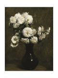 Chrysanthemums Giclee Print by Henri Fantin-Latour