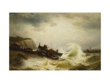 The Dover Lifeboat Print by Theodor Alexander		 Weber