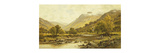 Borrowdale, Cumberland Premium Giclee Print by Alfred Augustus Glendening II