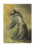 Saint Francis Receiving the Stigmata Giclee Print by Vicente Carducho