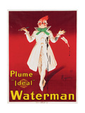 Plume 'Ideal' Waterman Giclee Print by Leonetto Cappiello