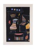 Kunstlicher Hof Giclee Print by Paul Klee