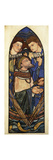 St. Peter Sinking in the Sea of Tiberias Premium Giclee Print by Edward		 Burne-Jones