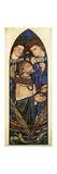 St. Peter Sinking in the Sea of Tiberias Premium Giclee Print by Edward Burne-Jones