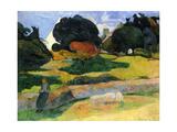 The Pig Field Kunst von Paul Gauguin