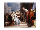 Esther before Ahasueurus Giclee Print by Jacopo		 Amigoni