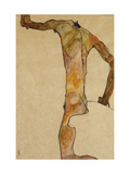 Male Nude Poster by Egon Schiele