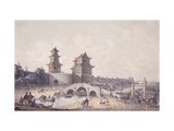 Pringze Men, the Western Gate of Peking Prints by William		 Alexander