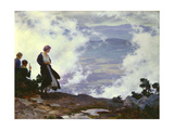 After the Storm Premium Giclee Print by Charles Courtney Curran