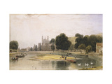 Eton Colleage Art by William		 Daniell