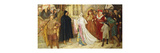 The Penance of the Duchess of Gloucester Premium Giclee Print by Frederick William		 Davis