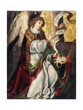 The Archangel Gabriel - a fragment of an Annunciation Giclee Print