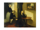 Double Portrait of the Reverend John Cocks and James Cocks Prints by John Hamilton		 Mortimer