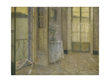 The Blue Room, Villefranche sur Mer Giclee Print by Henri		 Le Sidaner