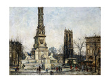 Place de Chatelet, Paris Prints by Pierre		 Farge