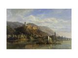 Heidelberg Giclée-trykk av Pierre Justin Ouvrie