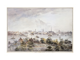 A View of Stockholm from Kungsholmen with the Royal Palace and Storkyrkan etc. Posters by Elias		 Martin