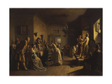 The Actors Giclee Print by Johann Hamza