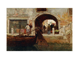 A Venetian Archway Giclee Print by Terrick		 Williams