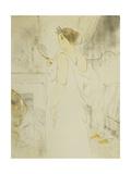 Femme a Glace - La Glace a Main, Plate VI from Elles Láminas por Henri Toulouse-Lautrec