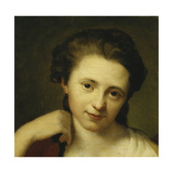 Portrait of Angelica Kauffmann Giclee Print by (attributed to) Anton Maron